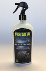 SYSTEM 51 Black Pearl Tire Dressing 15 oz