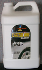 SYSTEM 51 Black Pearl Tire Dressing 1 Gallon