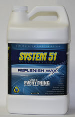 System 51 Replenish Wax Refill – 1 Gallon