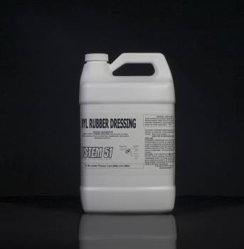 System 51 Vinyl Rubber Dressing 1 Gallon
