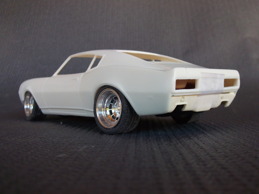 KKM 68 Camaro Fastback 1/25th Scale Resin Customizing Kit