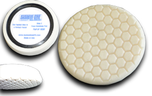 7.5″ White Foam Pad with Hex Face